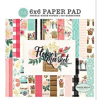 Carta Bella Flower Market 6x6 Inch Paper Pad