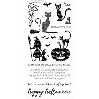 Picket Fence Studios Wicked Together Clear Stamps
