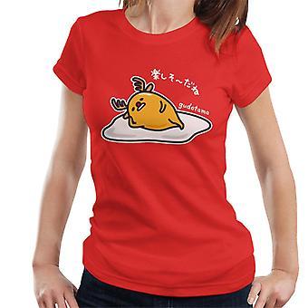 Gudetama Lazy Reindeer Women's T-Shirt