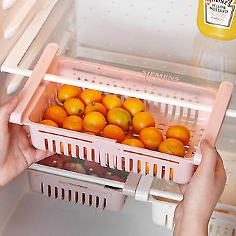 Refrigerator Storage Organizer Box Drawer Shelf For Vegetable Fruit & Bins|