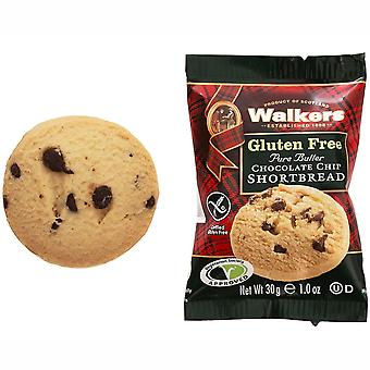 Walkers Gluten Free Chocolate Chip Shortbread Rounds