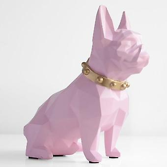 Modern Texture Cute Resin Dog - Piggy Bank