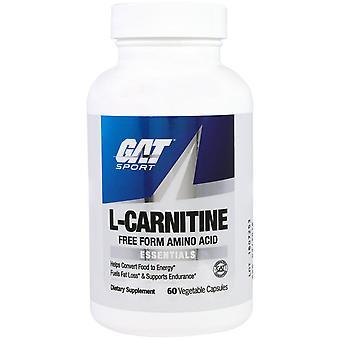 GAT, L-Carnitine, Aminozuur, Vrije Vorm, 60 plantaardige capsules