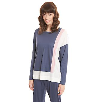 Rösch Pure 1203571-15609 Women's Colourblocking Pyjama Top