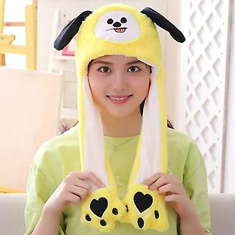 Various Styles Cute Rabbit Hat With Light Funny For Kids