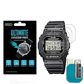Nano Explosion-proof Screen Protector For Casio Dw5600 Dw5610 Sport Watch