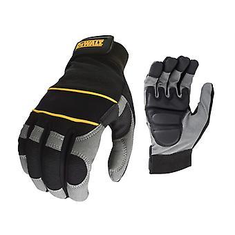 デワルトパワーツールゲル手袋 ブラック/ グレー DPG33L DEWDWGPTG
