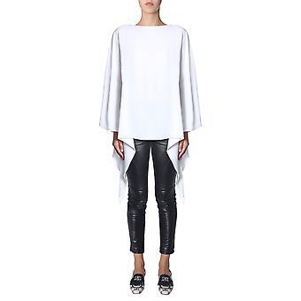Alberta Ferretti 021066180002 Damen's Weiße Acetat Bluse