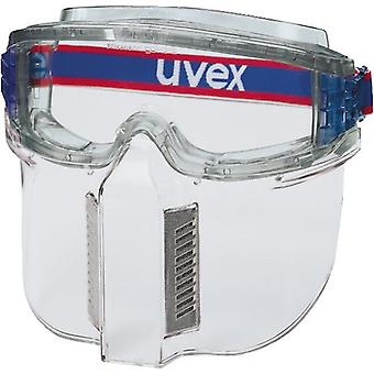 Uvex 9301-317 Ultrashield Clear Uncoated Face Shield Visor Clear Ventilated