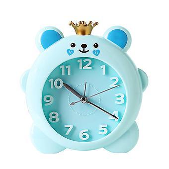 Süße Krone Schwein Kunststoff Wecker Schreibtisch Uhr