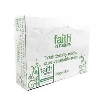 Faith In Nature - Aloe Vera Soap - Organic 100g x 18