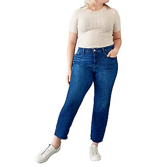 Warp + Weft | LFZ - High Rise Relaxed Straight Jeans