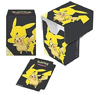 Ultra Pro Pokemon-Full View Deck Box-Pikachu 2019