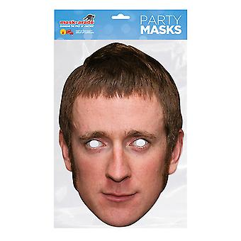 Mask-arade Bradley Wiggins Celebrities Party Face Mask