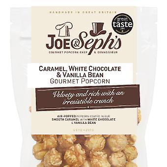 Weiße Schokolade & Vanillebohnen Popcorn