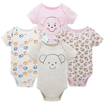 בגדי שינה עם שרוולים קצרים לתינוקות שזה עתה נולדו