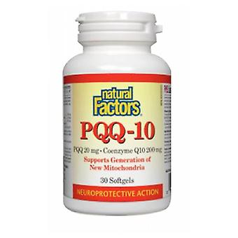 Luonnolliset tekijät PQQ-10, 60 Softgels