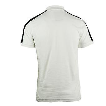 Roberto Cavalli Plaque Logo White Polo Shirt