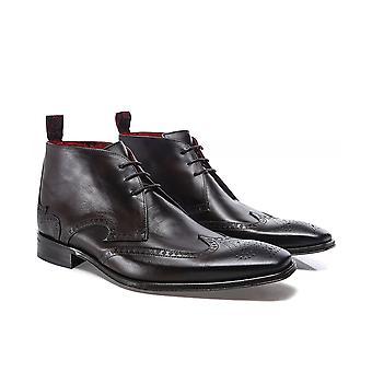 Jeffery-West Leather Scarface Chukka Boots
