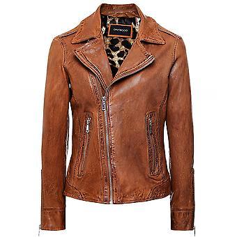 Oakwood Manga Leather Biker Jacket