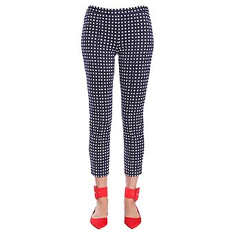 Michael By Michael Kors Ms83gtn8jy428 Women's Blue Polyester Pants
