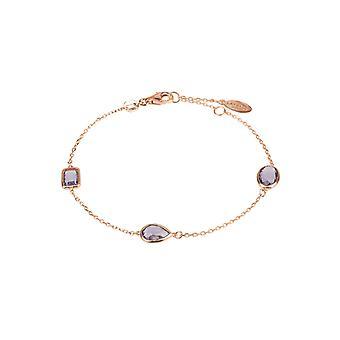 Венеции браслет розового аметист