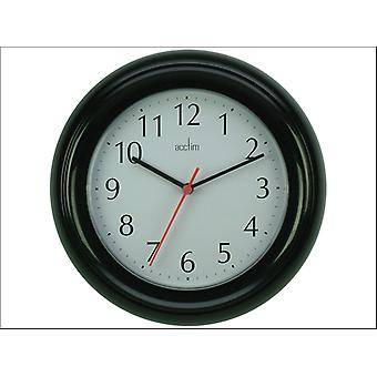 Acctim Wycombe Wall Clock Black 21413