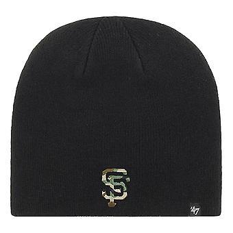 47 Brand San Francisco Giants Camfill Beanie - Black