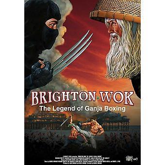 Brighton Wok The Legend of Ganja Boxing Movie Poster (11 x 17)