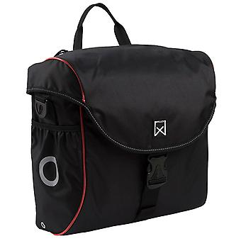 Willex Bicycle Bag 19 L Black and Red 16005