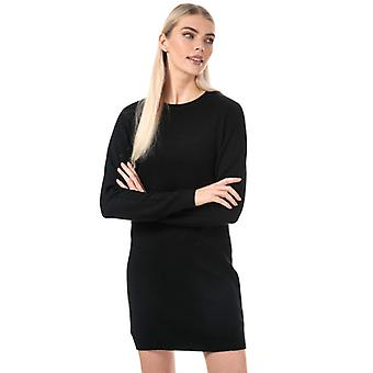 Women's Jacqueline de Yong Marco Jumper Dress in Black