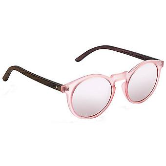 Take a Shot Molly Sunglasses - Brown/Pink