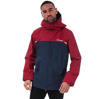 Men's Berghaus Chombu Shell Jacket in Blue