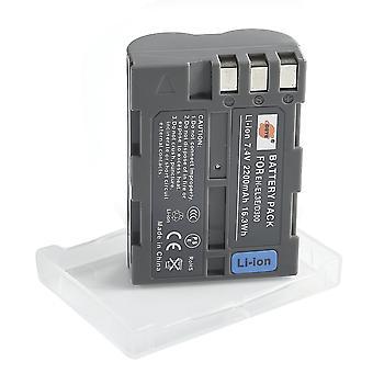 Dste® en-el3e baterie reîncărcabilă li-ion pentru nikon d30 d50 d70 d70s d80 d90 d100 d200 d300 d300s d