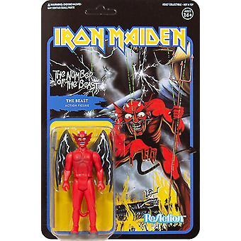 Iron Maiden Reaction - Number Of The Beast (Album) Etats-Unis importation