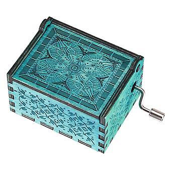 Kaiverra käsintehty puinen Anastasia-laatikko