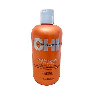 CHI Deep Brilliance Soothe & Protect 12 oz Cream