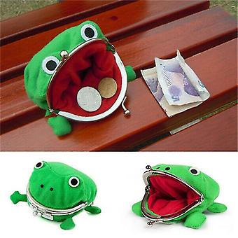 Frog Coin punge, Tegneserie Tegnebog Pouch Anime Manga Shape Fluff Cosplay Cute