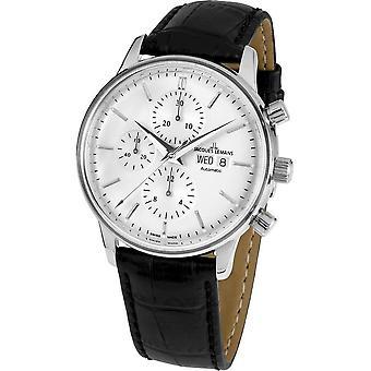جاك Lemans -- ساعة اليد -- رجال -- ريترو كلاسيك فالجو التلقائي -- N - 208A