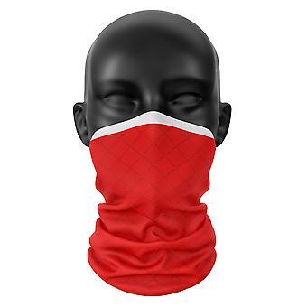 Rotherham FC Farben Snood Gesicht Maske Schal Fußball Club Buff Kopfbedeckung Tube