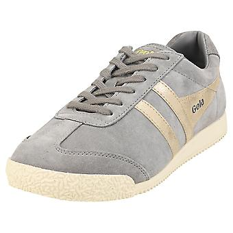 Gola Harrier Mirror Womens Fashion Trainers in Ash Gold