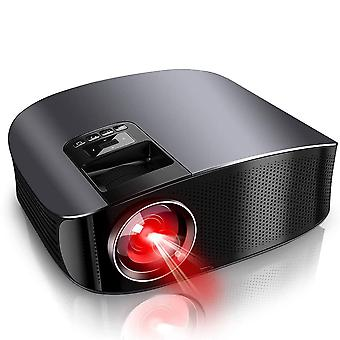 HD Projector 1080P Support Home Theater Projector with 2 HiFi Dolby Stereo 250inch HD Movie Projector