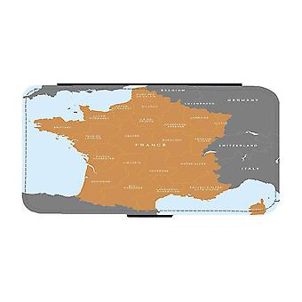Map of France iPhone 12 Mini Wallet Case
