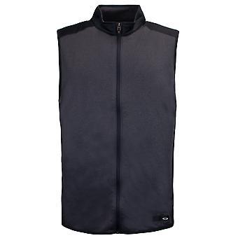 Oakley Mens Golf Range Vest Zip Up Gilet Black 412424 02E