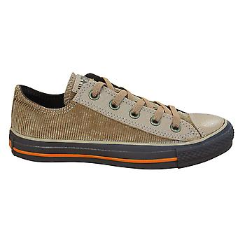Converse Chuck Taylor All Star Distressed Ox Low Mens Trainers Brown 100167 D40