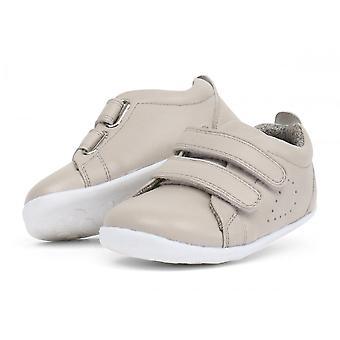 BOBUX Double Velcro Shoe Grey
