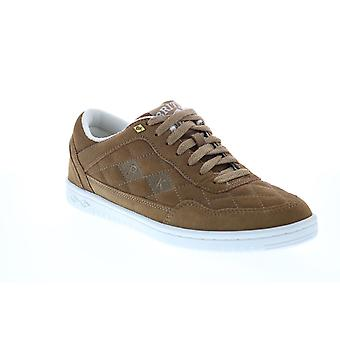 British Knights Quilts  Mens Brown Suede Lifestyle Sneakers Shoes