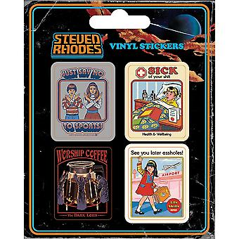 Steven Rhodes Collection Vinyl Stickers (Pack of 5)