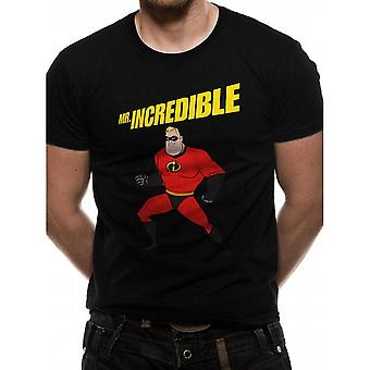 Incredibles 2 Unisex Adults Power Pose Design T-shirt