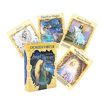 Angel Therapy Oracle Cards English Version Tarot Card Deck Tarot For Fun Game
